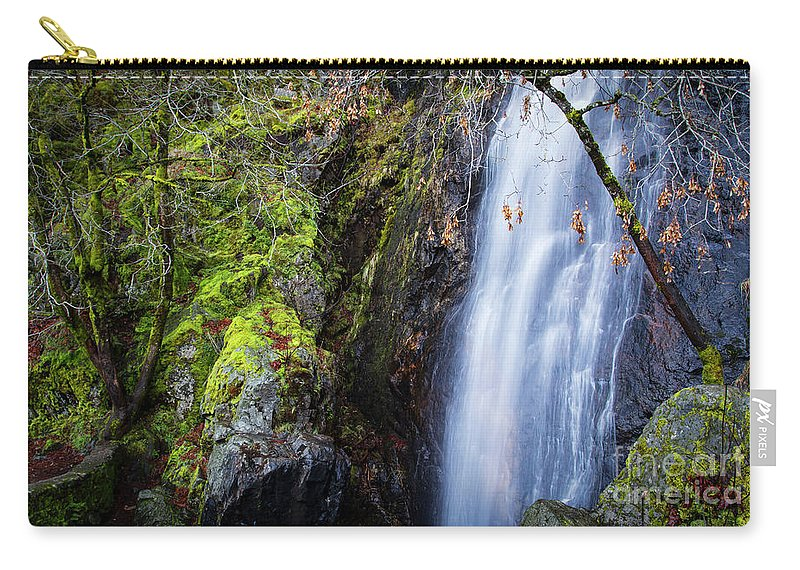 Bridal Veil Falls 3 Carry-all Pouch featuring the photograph Bridal Veil Falls 3 by Mitch Shindelbower