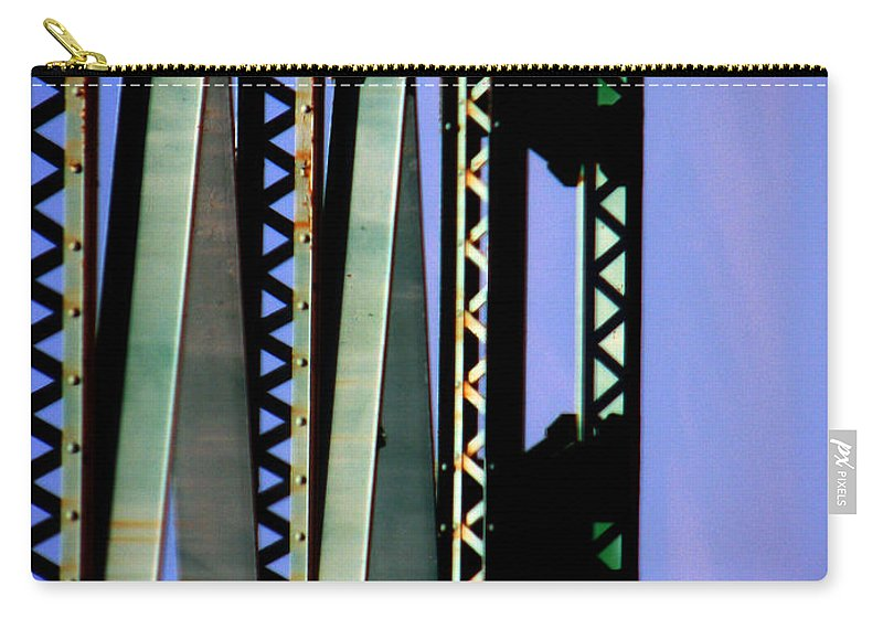 Bridge Carry-all Pouch featuring the photograph Bridge by Amanda Barcon