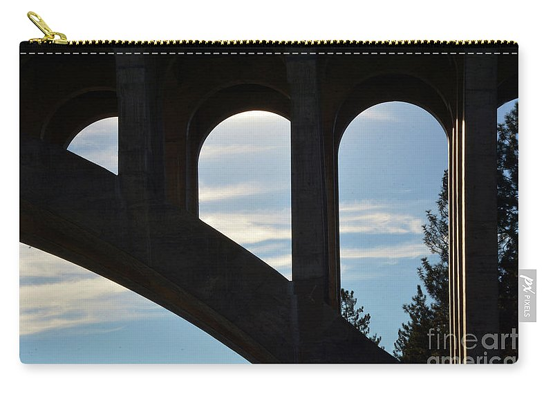 Bridge Carry-all Pouch featuring the photograph Bridge by Dan Holm