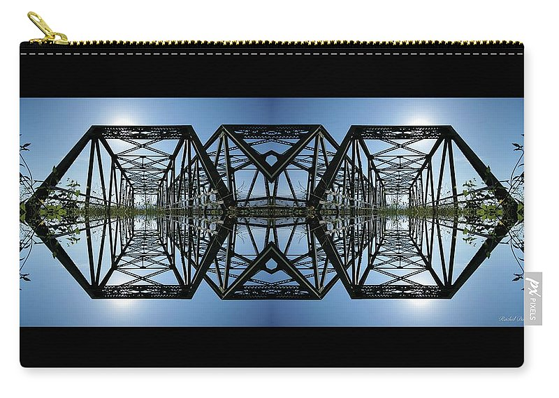 Carry-all Pouch featuring the photograph Bridge by Rachel Dunn