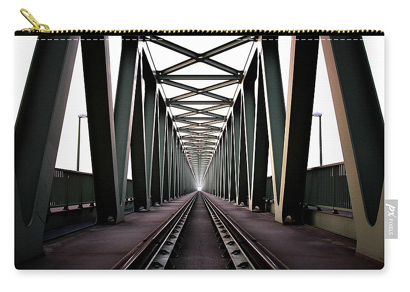 Bridge Carry-all Pouch featuring the photograph Bridge by Zoltan Toth