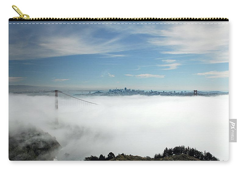 San Francisco Carry-all Pouch featuring the photograph Brigadoon by Donna Blackhall