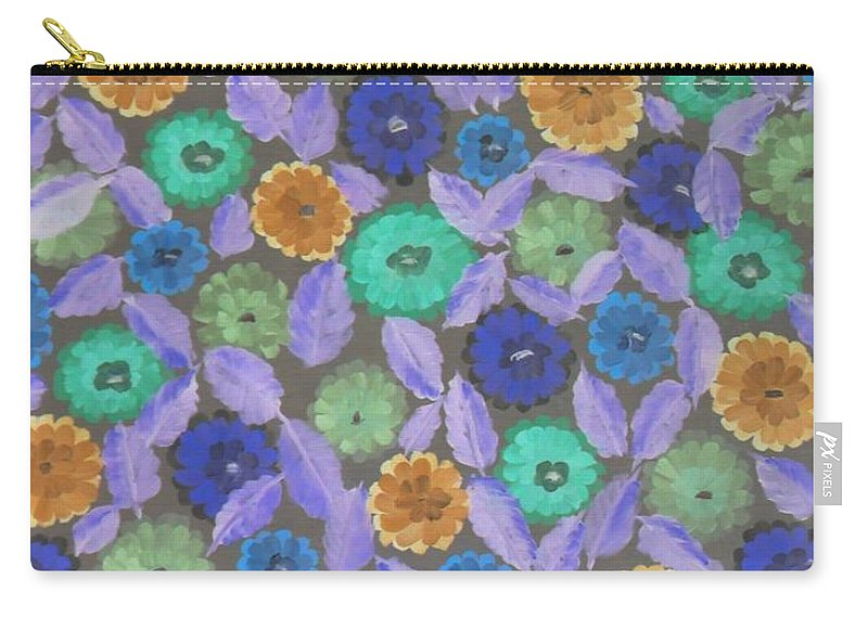 Bright Carry-all Pouch featuring the photograph Bright Flowers by Darrin Ingram