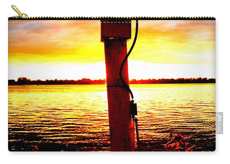Marine Carry-all Pouch featuring the photograph Bright Light by Dawn Stone