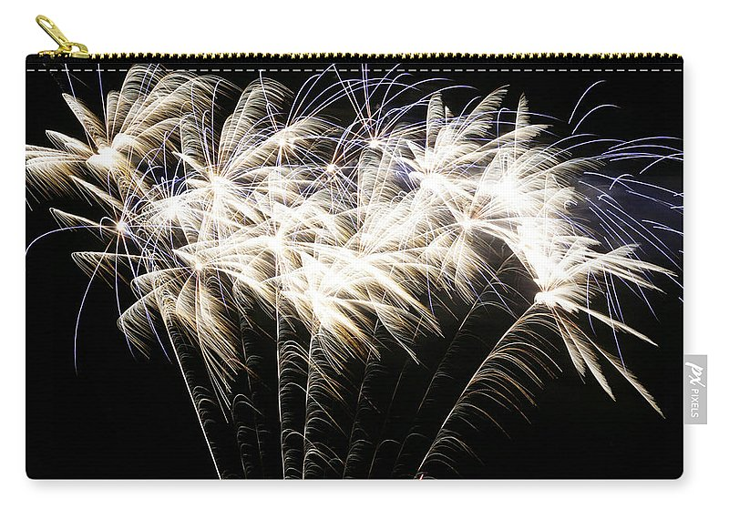 July 4th Carry-all Pouch featuring the photograph Bright Lights by Phill Doherty