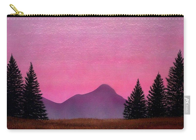 Landscape Carry-all Pouch featuring the painting Brightness by Frank Wilson