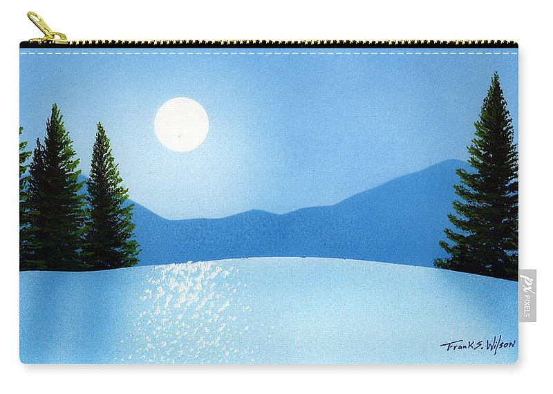 Brilliance Carry-all Pouch featuring the painting Brilliance by Frank Wilson