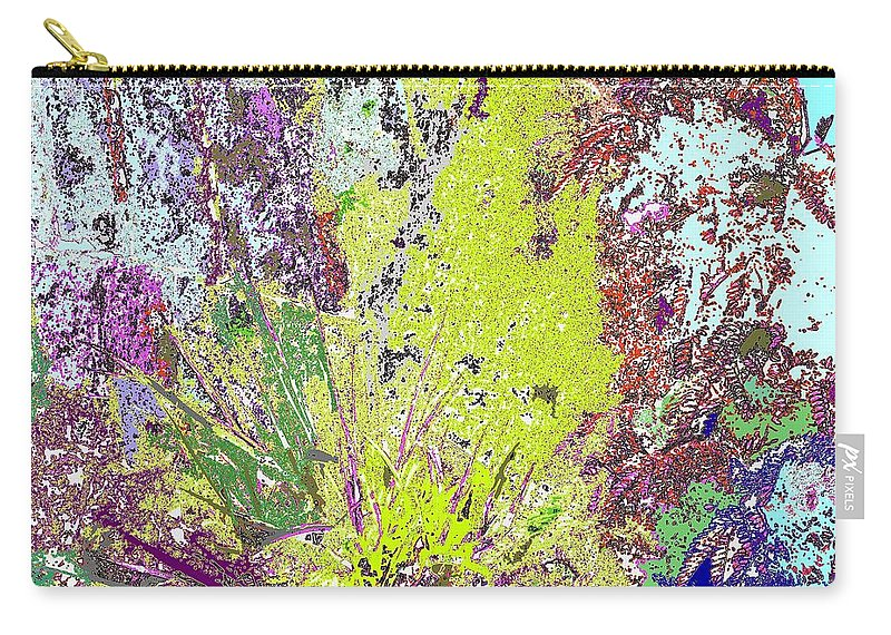 Abstract Carry-all Pouch featuring the photograph Brimstone Fantasy by Ian MacDonald