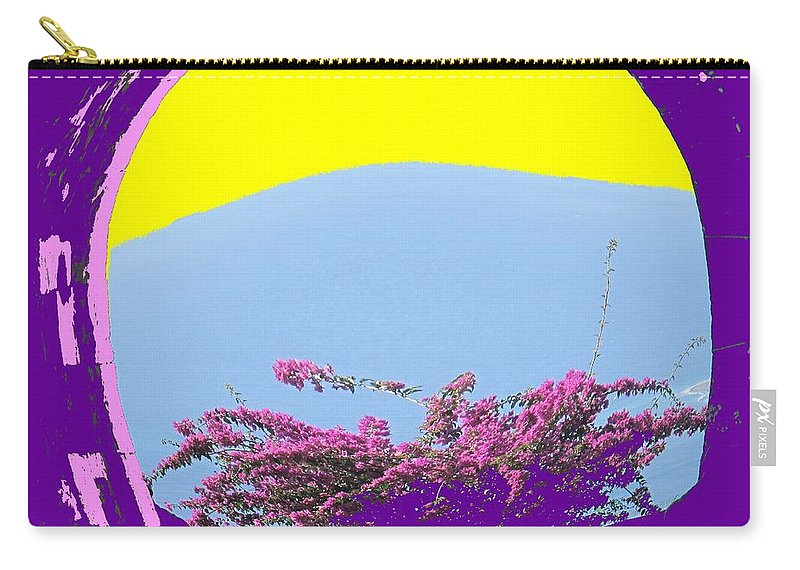 Brimstone Carry-all Pouch featuring the photograph Brimstone Gate by Ian MacDonald