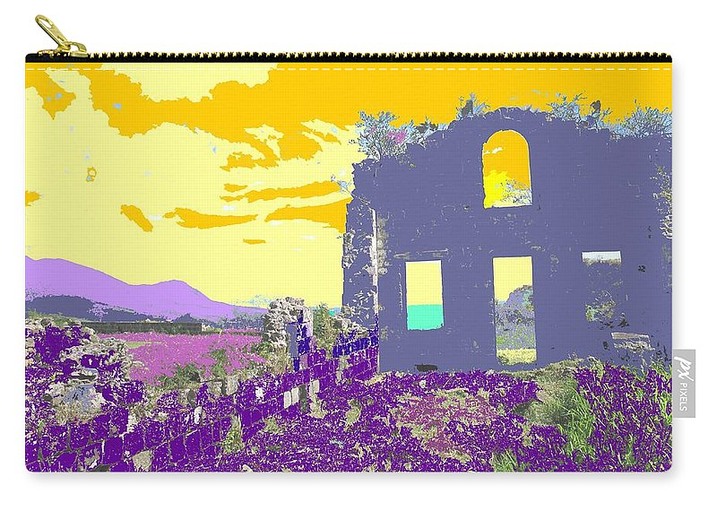 Brimstone Carry-all Pouch featuring the photograph Brimstone Sunset by Ian MacDonald
