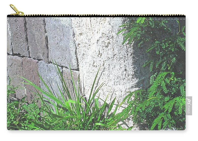 Brimstone Carry-all Pouch featuring the photograph Brimstone Wall by Ian MacDonald