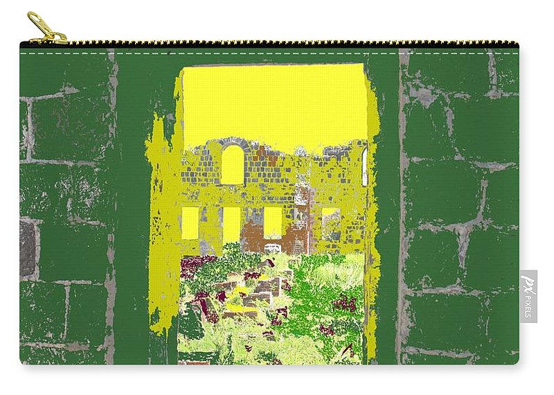 Brimstone Carry-all Pouch featuring the photograph Brimstone Window by Ian MacDonald