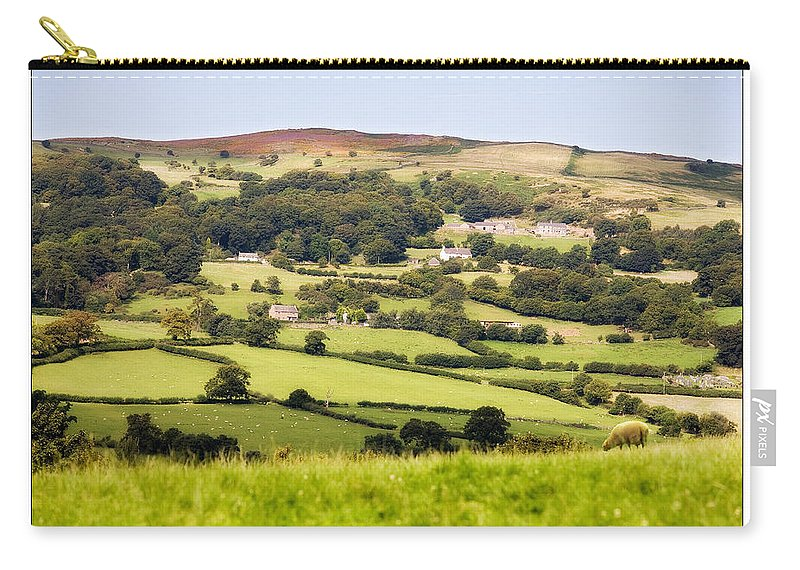 Landscape Carry-all Pouch featuring the photograph British Landscape by Mal Bray