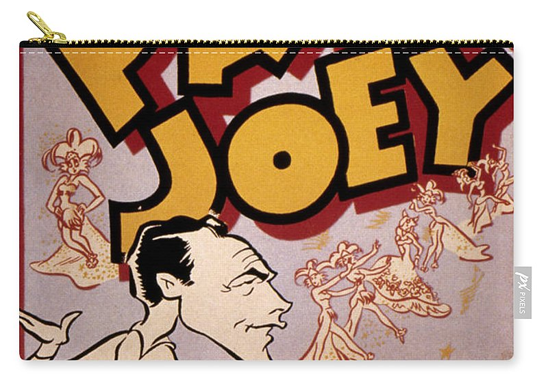 1940 Carry-all Pouch featuring the photograph Broadway: Pal Joey, 1940 by Granger