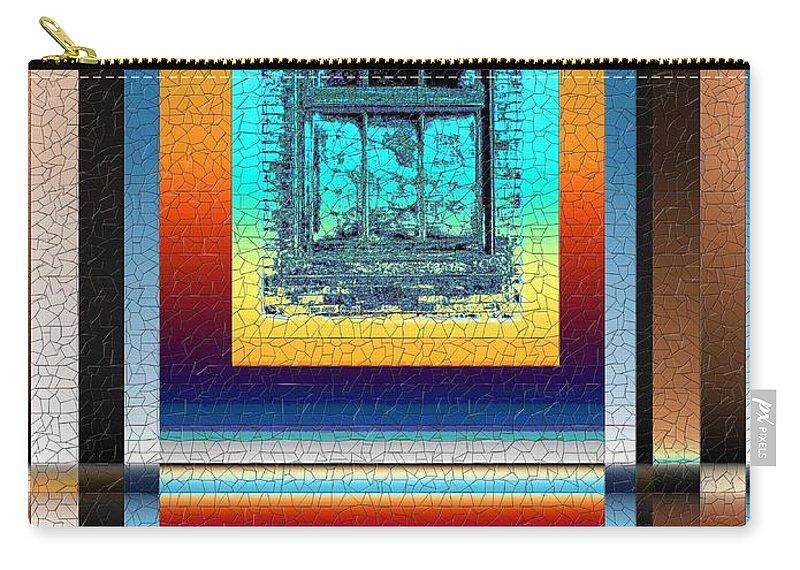 Digital Art Carry-all Pouch featuring the digital art Broken Dreams 3 by Tim Allen