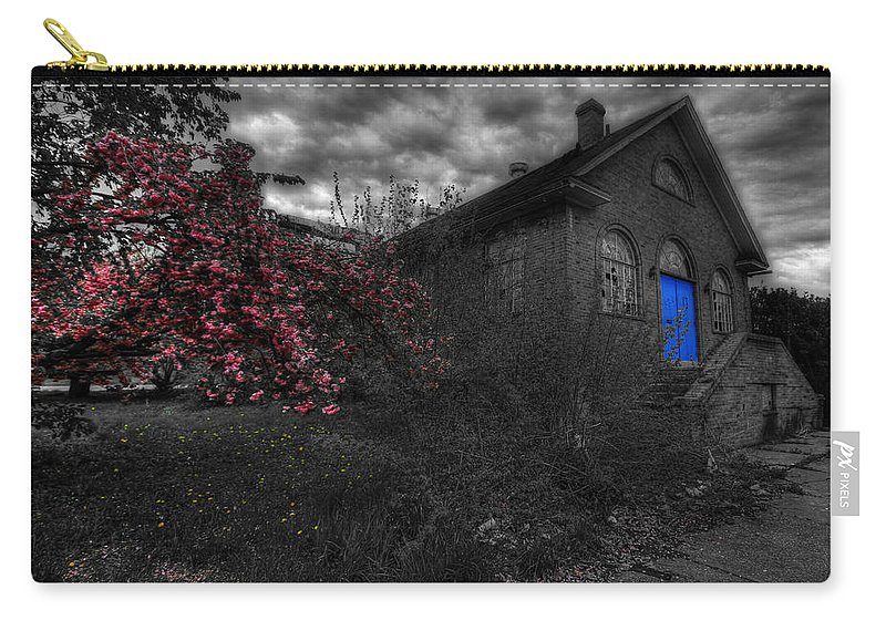 Church Carry-all Pouch featuring the photograph Broken Faith by Shelley Neff