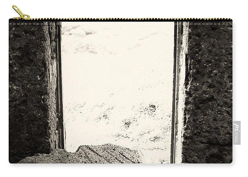 Azores Carry-all Pouch featuring the photograph Broken Millstone by Gaspar Avila
