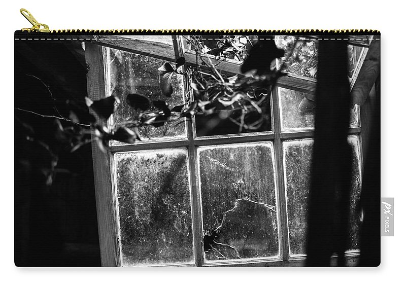 Broken Carry-all Pouch featuring the photograph Broken by Paula OMalley