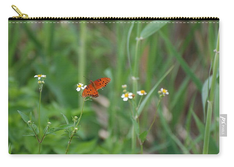 Butterfly Carry-all Pouch featuring the photograph Broken Wing by Rob Hans