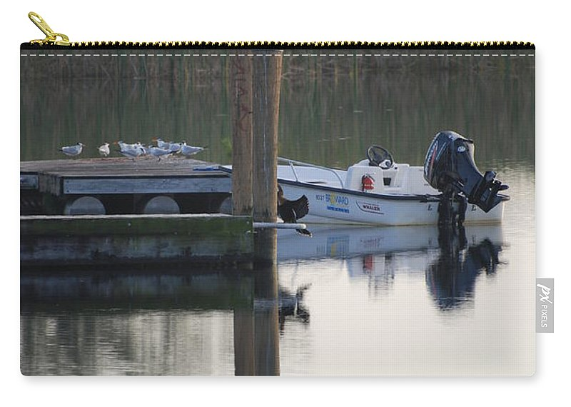 Water Carry-all Pouch featuring the photograph Broward Boat by Rob Hans
