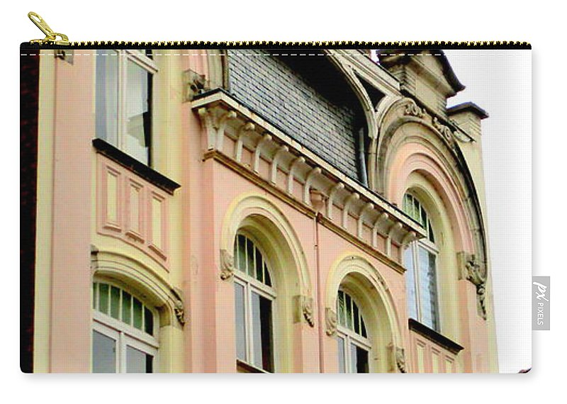 Bruges Carry-all Pouch featuring the photograph Bruges 12 by Randall Weidner