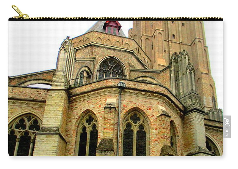 Bruges Carry-all Pouch featuring the photograph Bruges 15 by Randall Weidner