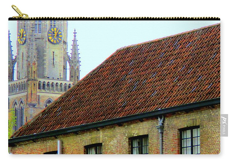 Bruges Carry-all Pouch featuring the photograph Bruges 18 by Randall Weidner