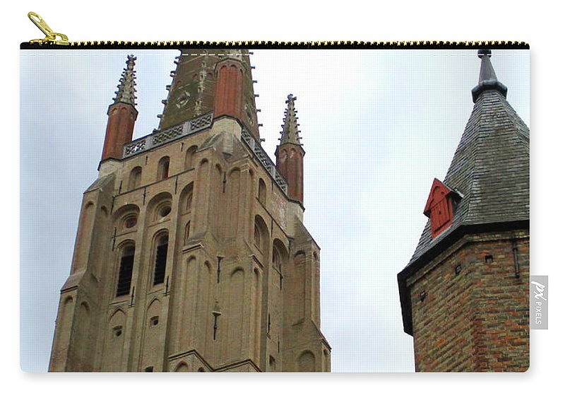 Bruges Carry-all Pouch featuring the photograph Bruges 20 by Randall Weidner