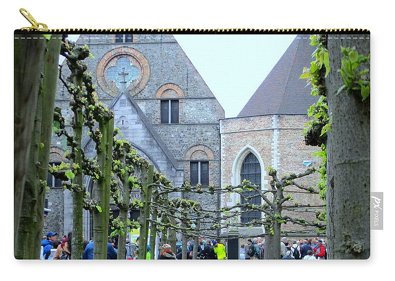 Bruges Carry-all Pouch featuring the photograph Bruges 8 by Randall Weidner