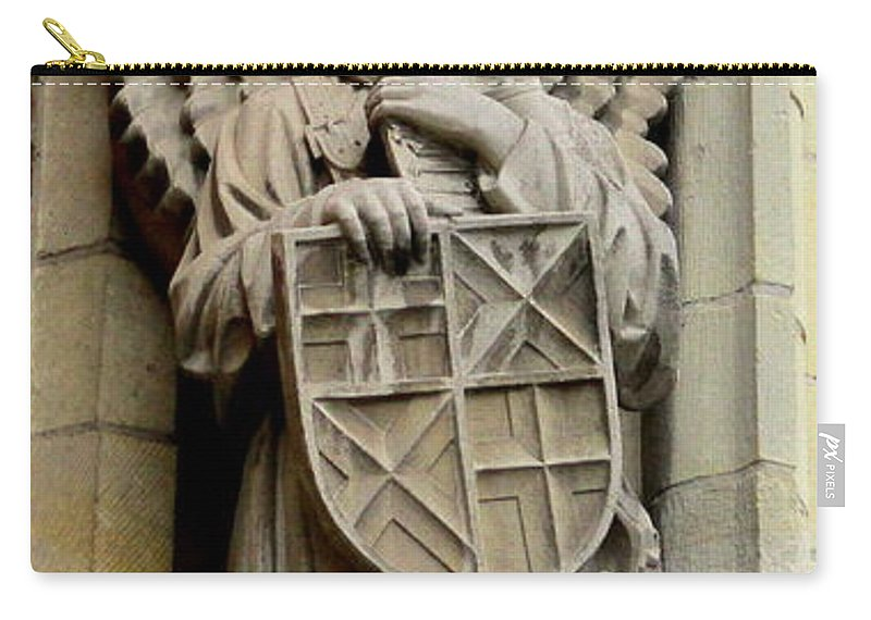 Bruges Carry-all Pouch featuring the photograph Bruges Detail 7 by Randall Weidner