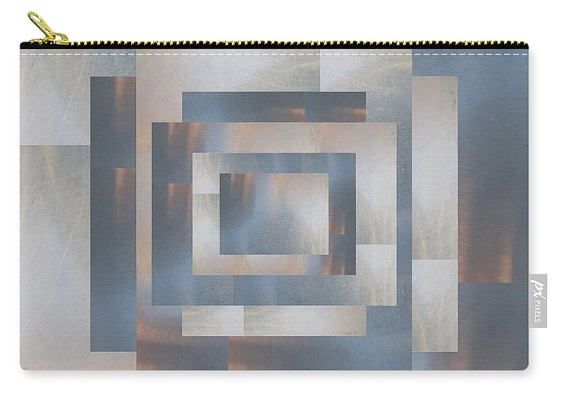 Abstract Carry-all Pouch featuring the digital art Brushed 23 by Tim Allen