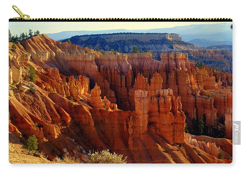 Br Carry-all Pouch featuring the photograph Bryce 3 by Marty Koch