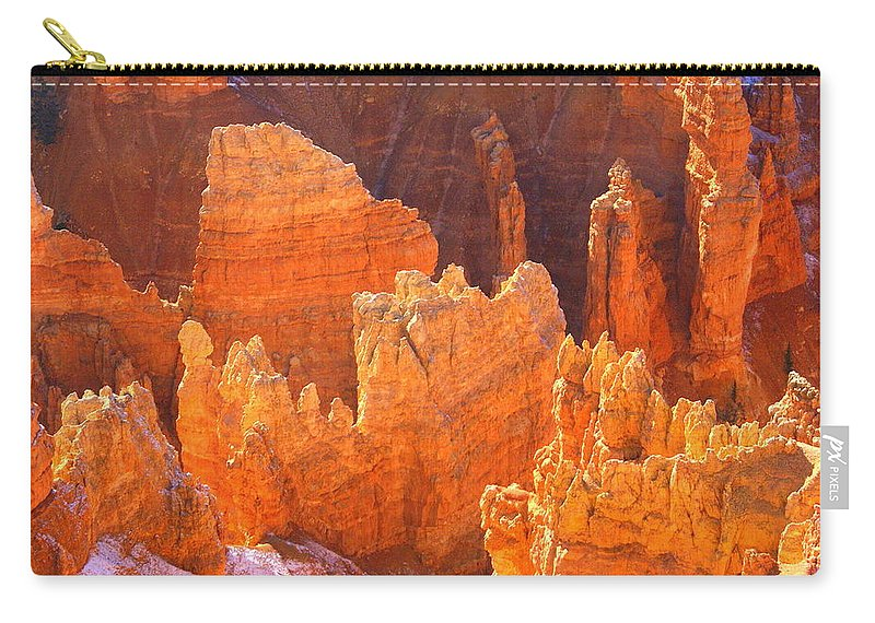 Bryce Canyon National Park Carry-all Pouch featuring the photograph Bryce Ablaze by Marty Koch