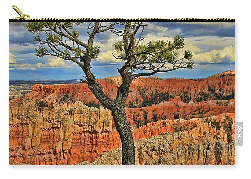 Sunrise Point Carry-all Pouch featuring the photograph Bryce Canyon 46 - Sunrise Point by Allen Beatty