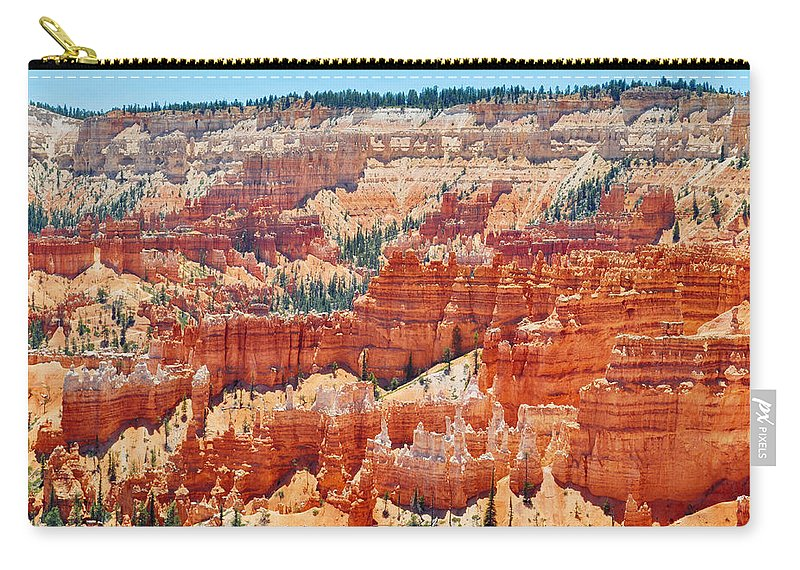 Bryce Canyon National Park Carry-all Pouch featuring the photograph Bryce Canyon Fairyland Point by Kyle Hanson