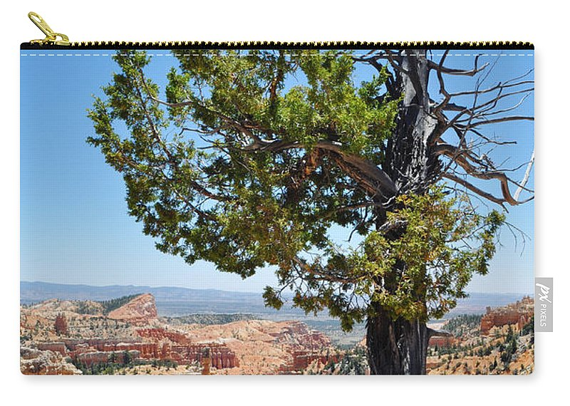 Bryce Canyon National Park Carry-all Pouch featuring the photograph Bryce Canyon Fairyland Point Portrait by Kyle Hanson