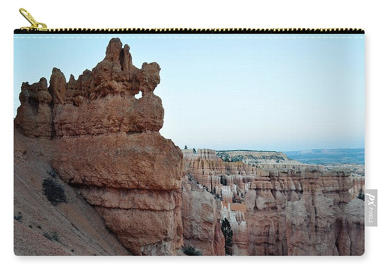 Bryce Canyon National Park Carry-all Pouch featuring the photograph Bryce Canyon Navajo Loop Trail Window by Kyle Hanson