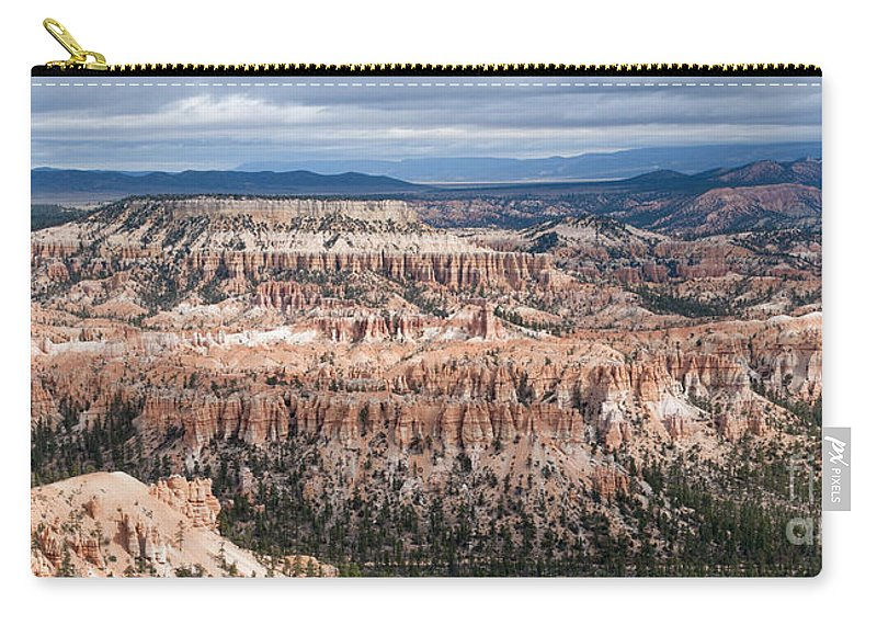 Bryce Canyon National Park Carry-all Pouch featuring the photograph Bryce Canyon Overlook by Sandra Bronstein