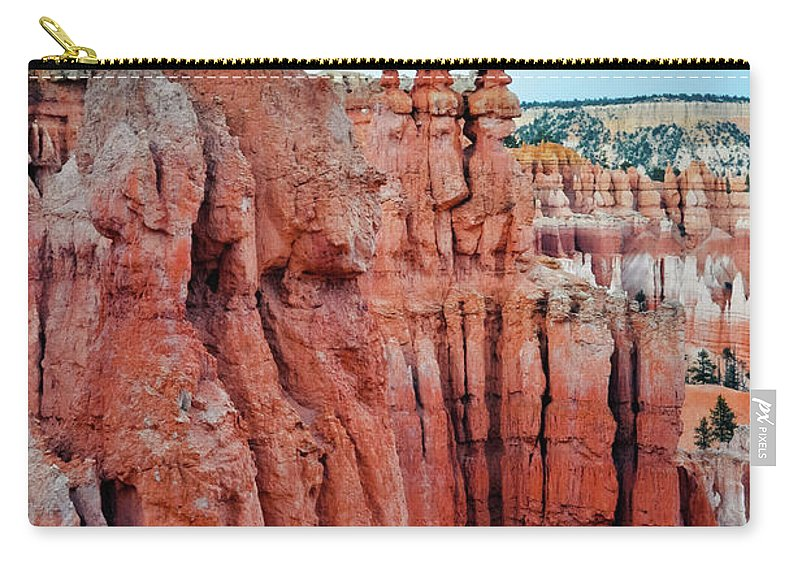Bryce Canyon National Park Carry-all Pouch featuring the photograph Bryce Canyon Thors Hammer Portrait by Kyle Hanson