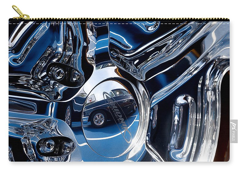 Budnik Wheel Carry-all Pouch featuring the photograph Budnik Wheel 01 by Rick Piper Photography