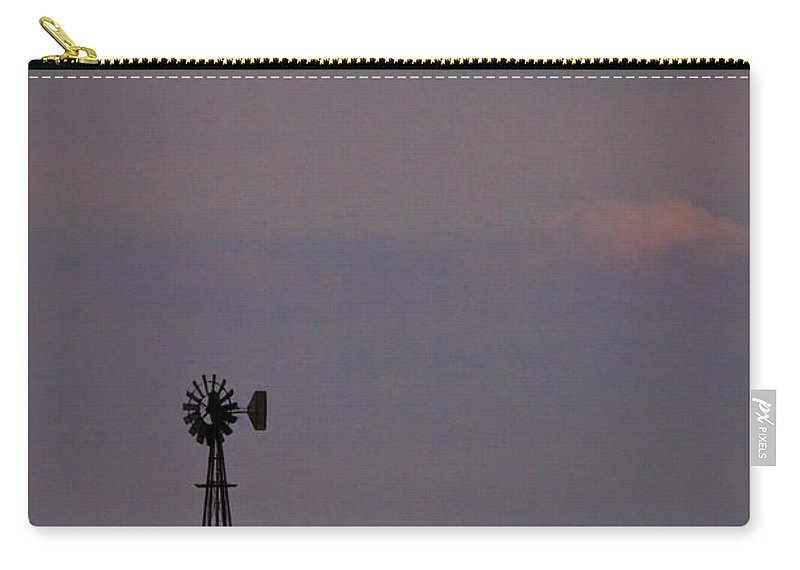 Windmill Carry-all Pouch featuring the photograph Bumper Crop by Albert Seger