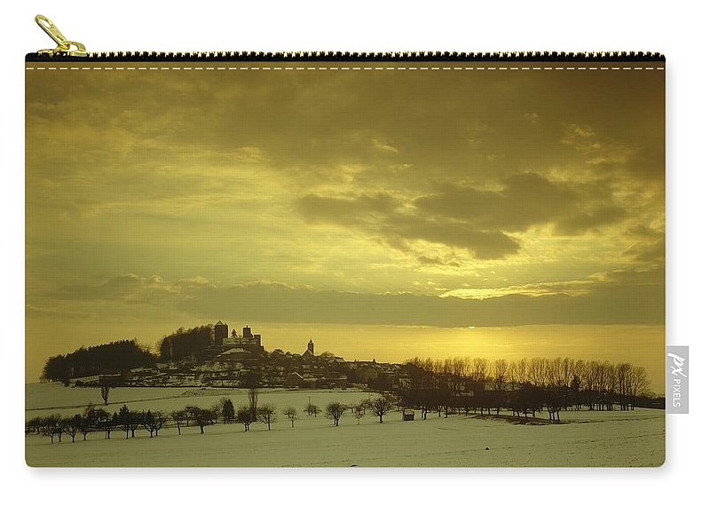 Castle Carry-all Pouch featuring the photograph Burg Stolpen by Stolpen