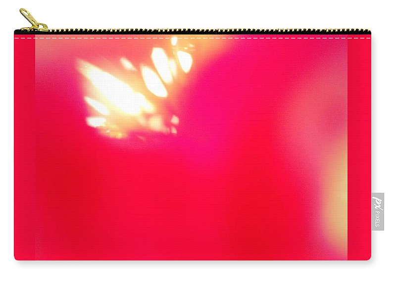 White Carry-all Pouch featuring the photograph Burst Of Light by Alexandra Masson