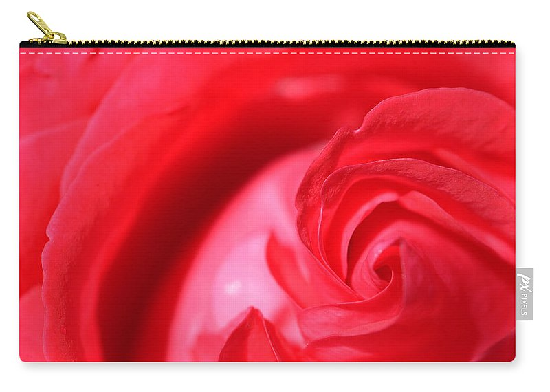 Rose Carry-all Pouch featuring the photograph Butler Rose by Michael McGowan