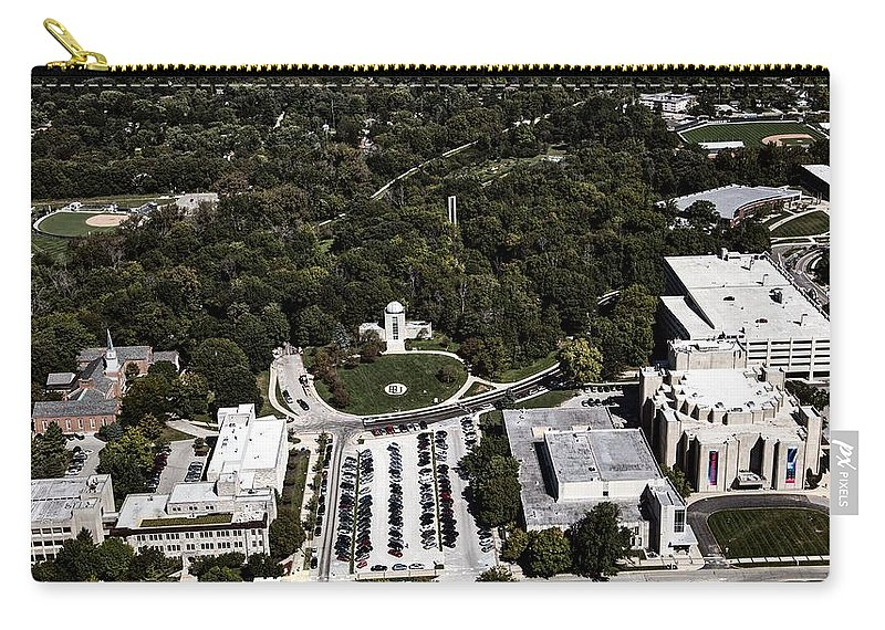 Butler University Carry-all Pouch featuring the photograph Butler University by Mountain Dreams