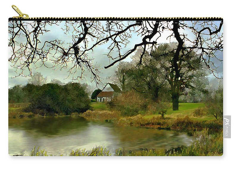 England Carry-all Pouch featuring the photograph Butlers Retreat Epping Forest Uk by Kurt Van Wagner
