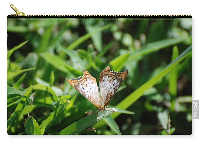 Butterfly Carry-all Pouch featuring the photograph Butter Fly by Rob Hans