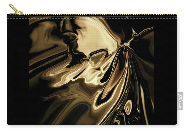 Butterfly Carry-all Pouch featuring the digital art Butterfly 2 by Rabi Khan