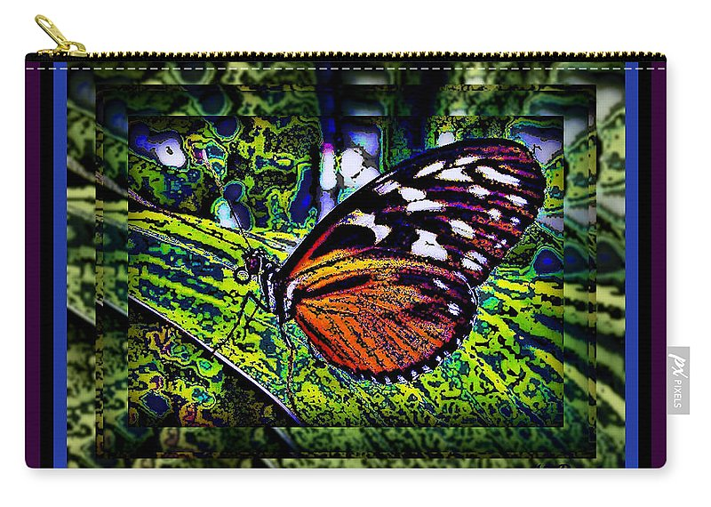 Butterfly Carry-all Pouch featuring the photograph Butterfly Dreams by Leslie Revels