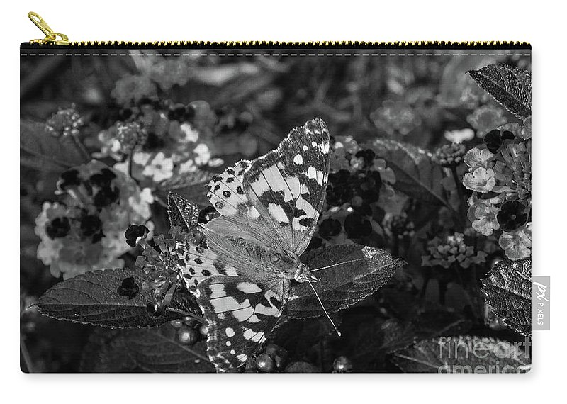 Butterfly Carry-all Pouch featuring the photograph Butterfly by Jeffrey Miller